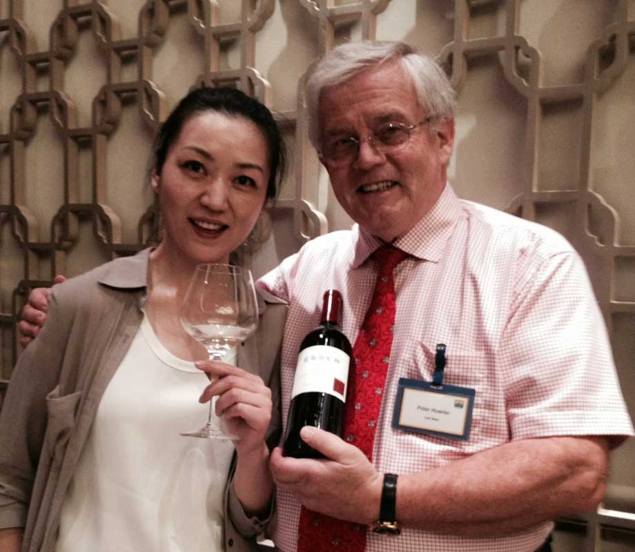 Peter Huwiler of Esser Wines in China