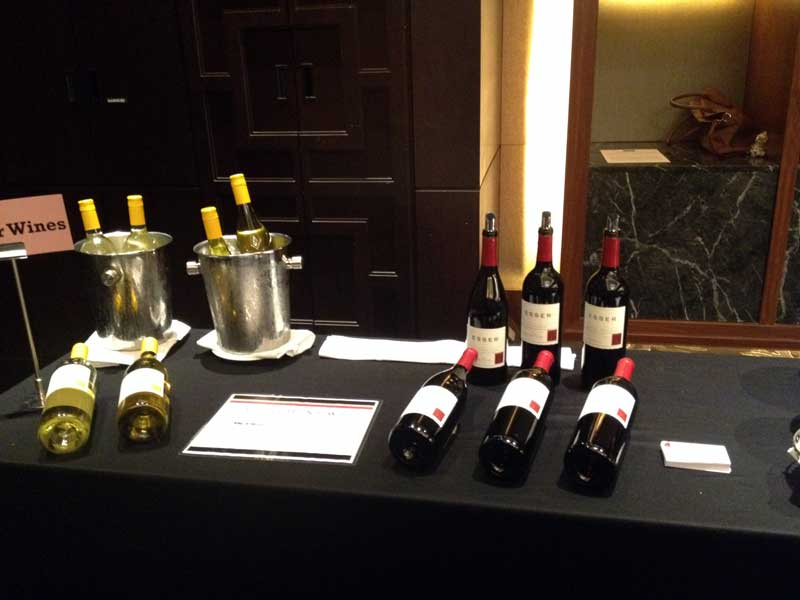 Lull before the storm as the Conrad Hotel Consumer Tasting, Seoul South Korea