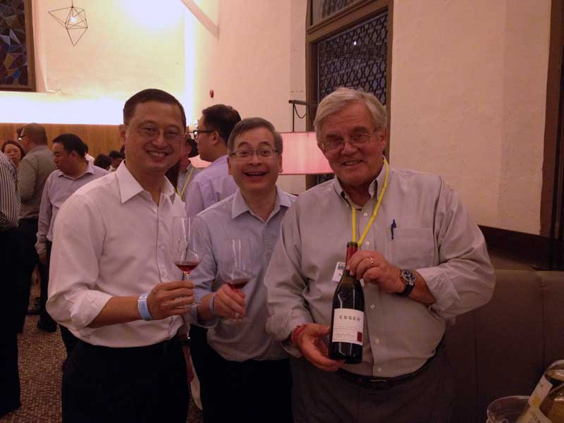 Trade Tastings with the California Wine Institute at Raffles Hotel, Singapore