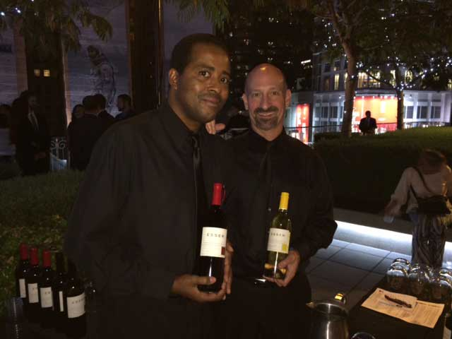 Tony & Tony of Wolfgang Puck Catering proudly serving Award Winning Esser Wines at the famous Grammy Museum Downtown LA for a very special event supporting Path-Point's 50th Anniversary Gala