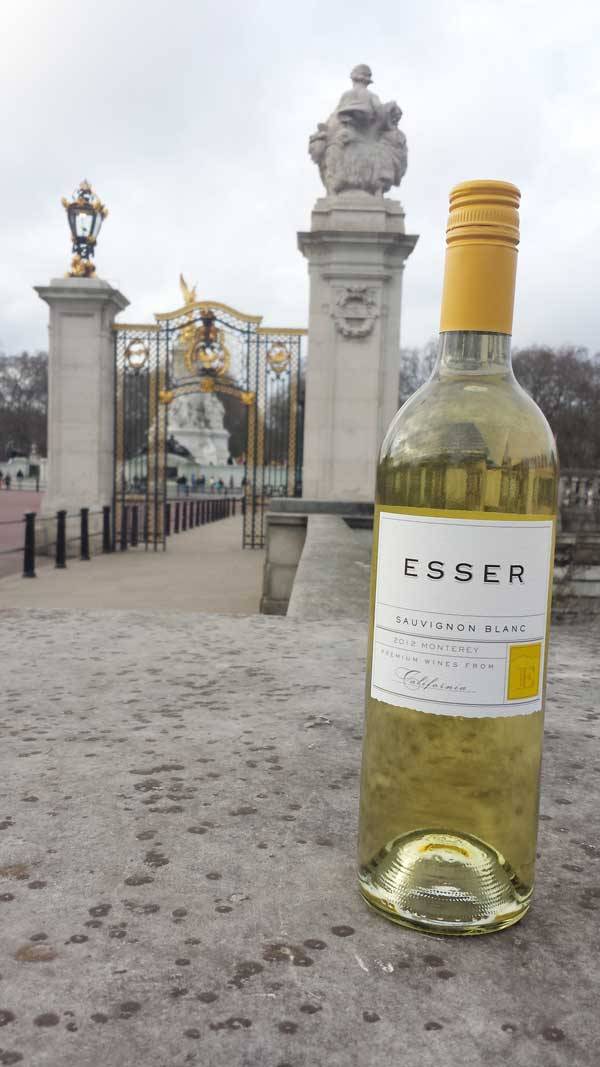 Esser Wines at Buckingham Palace